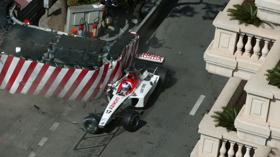 Jenson Button - BAR Honda - GP Monaco