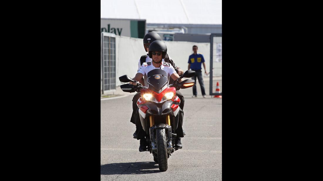 Jenson Button - Bikes der F1-Piloten