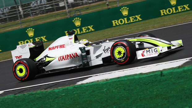 Jenson Button - Brawn GP001 - GP England - Silverstone - Donnerstag - 11.07.2019