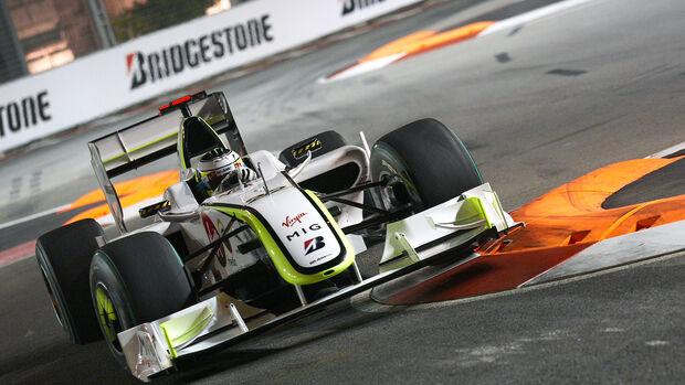 Jenson Button - BrawnGP 001 - GP Singapur 2009