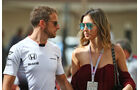 Jenson Button & Brittny Ward - Formel 1 - GP Abu Dhabi - 25. November 2016