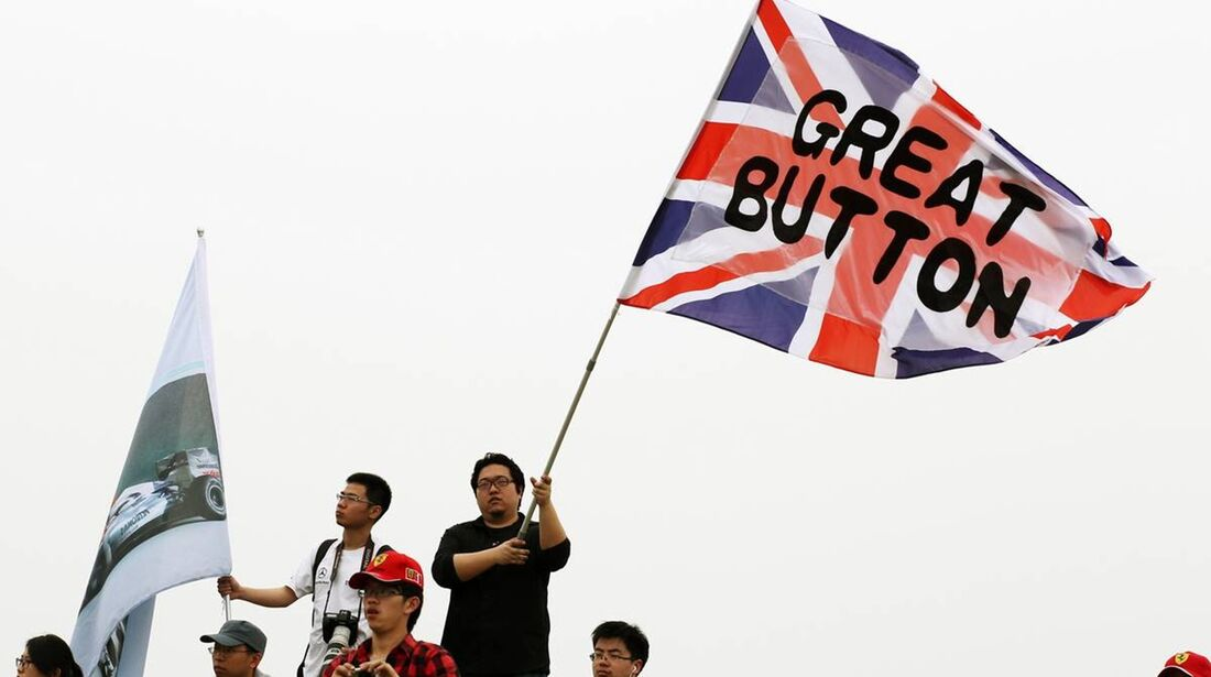 Jenson Button Fans  - Formel 1 - GP China - 15. April 2012