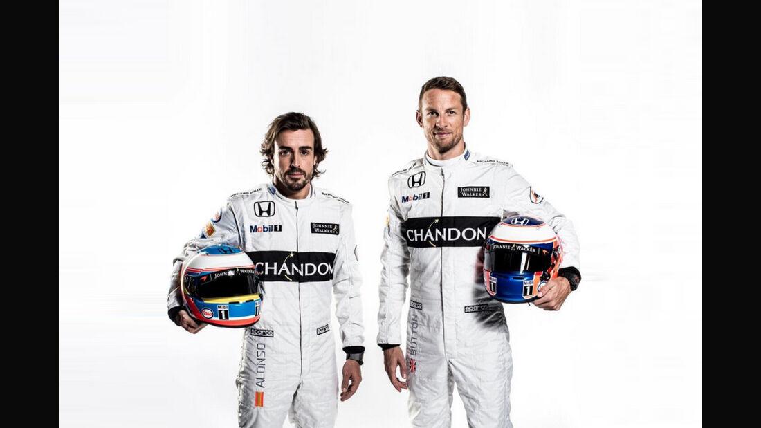 Jenson Button & Fernando Alonso - McLaren - 2016