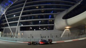 Jenson Button - Formel 1 - GP Abu Dhabi - 02. November 2012