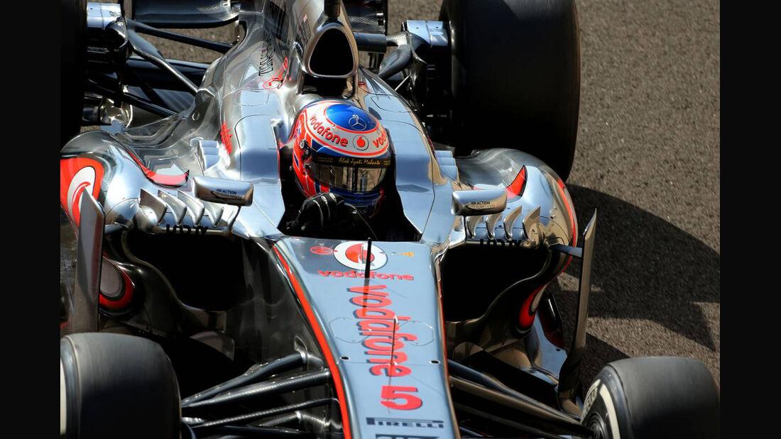 Jenson Button - Formel 1 - GP Abu Dhabi - 02. November 2013