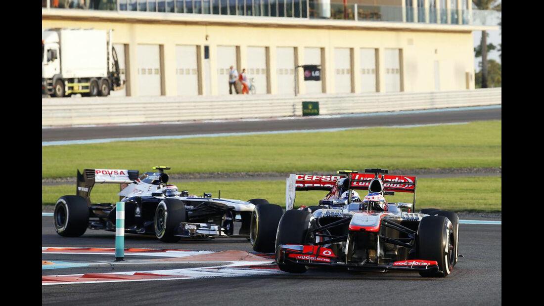 Jenson Button - Formel 1 - GP Abu Dhabi - 03. November 2013