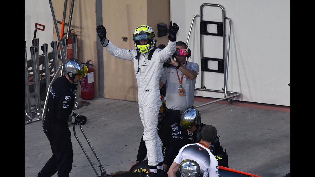 Jenson Button - Formel 1 - GP Abu Dhabi 2016