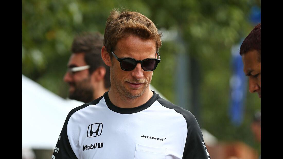 Jenson Button - Formel 1 - GP Australien - 12. März 2015