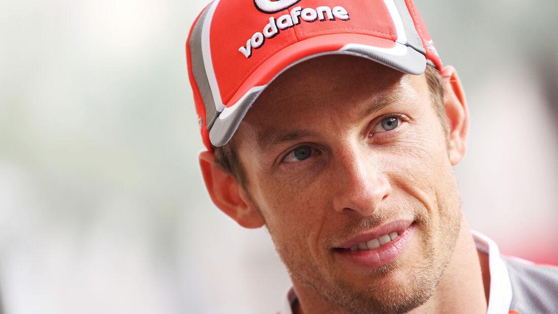 Jenson Button - Formel 1 - GP Bahrain - 19. April 2012
