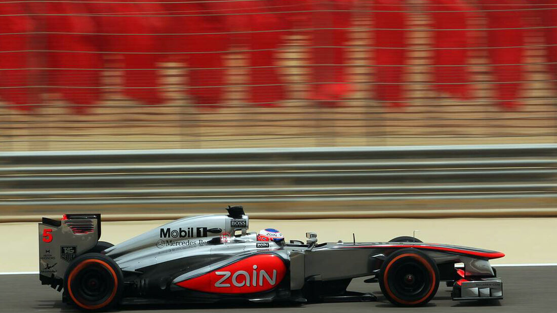 Jenson Button - Formel 1 - GP Bahrain - 20. April 2013