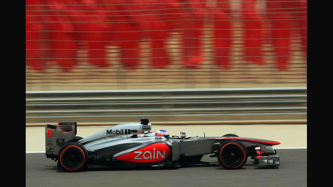 Jenson Button - Formel 1 - GP Bahrain - 20. April 2013