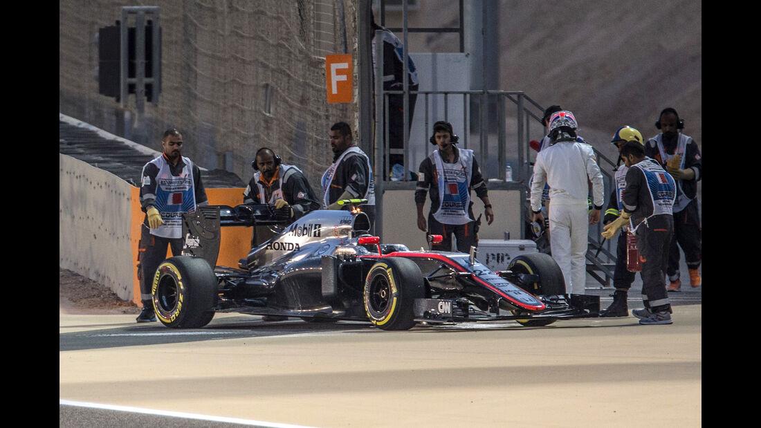 Jenson Button - Formel 1 - GP Bahrain 2015