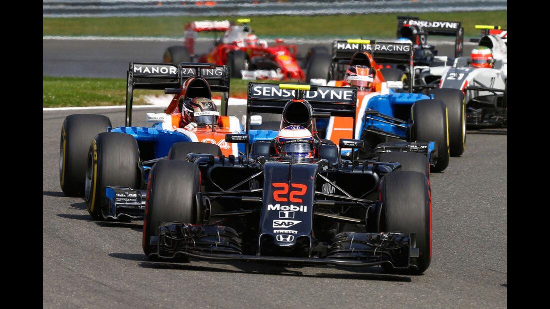 Jenson Button - Formel 1 - GP Belgien 2016