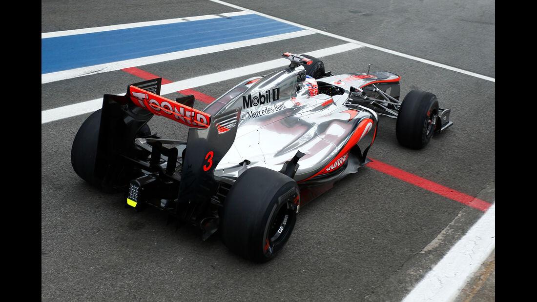 Jenson Button Formel 1 GP Brasilien 2012
