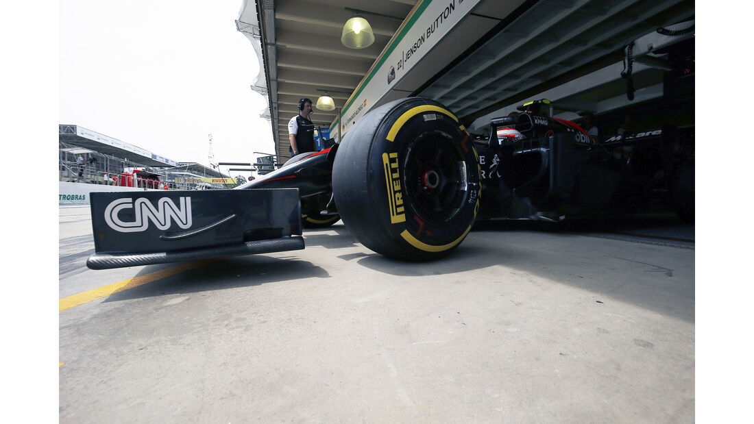 Jenson Button - Formel 1 - GP Brasilien 2015