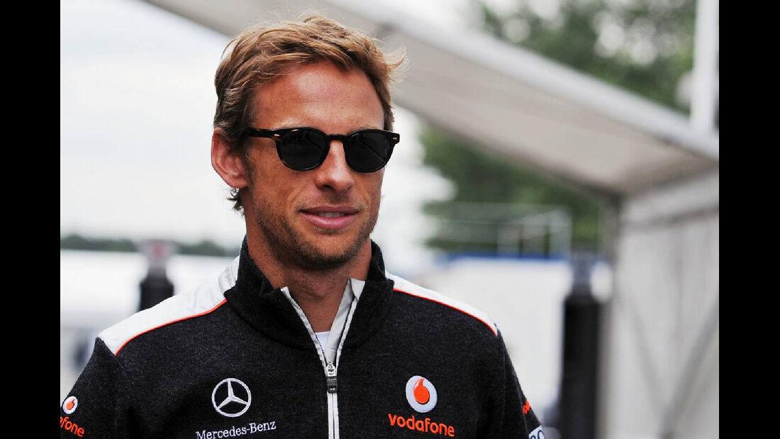 Jenson Button - Formel 1 - GP Deutschland - 19. Juli 2012