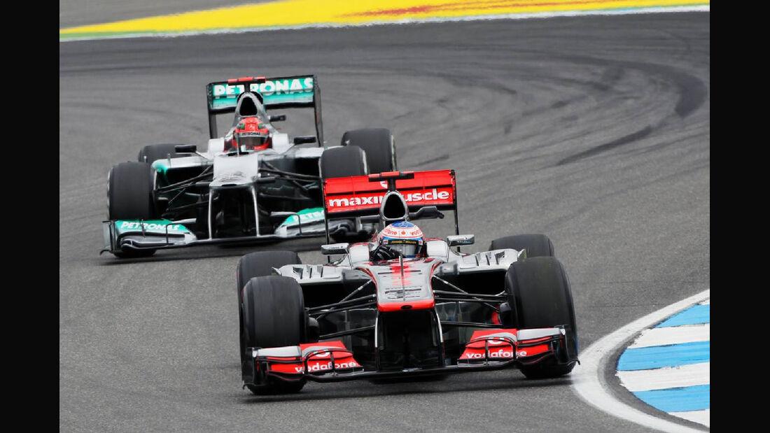 Jenson Button - Formel 1 - GP Deutschland - 20. Juli 2012