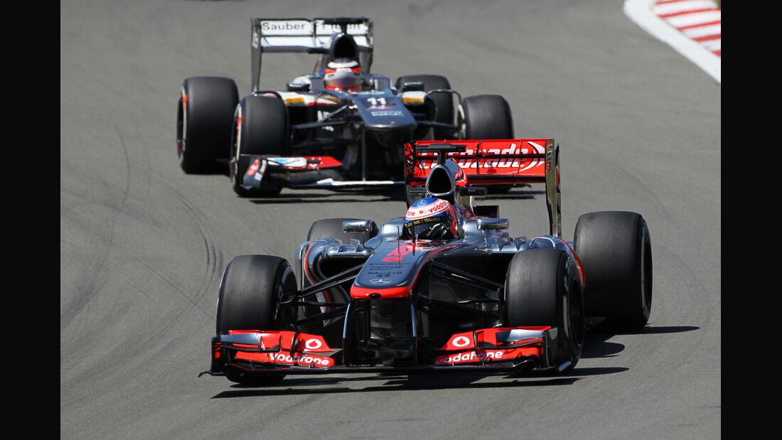 Jenson Button - Formel 1 - GP Deutschland 2013