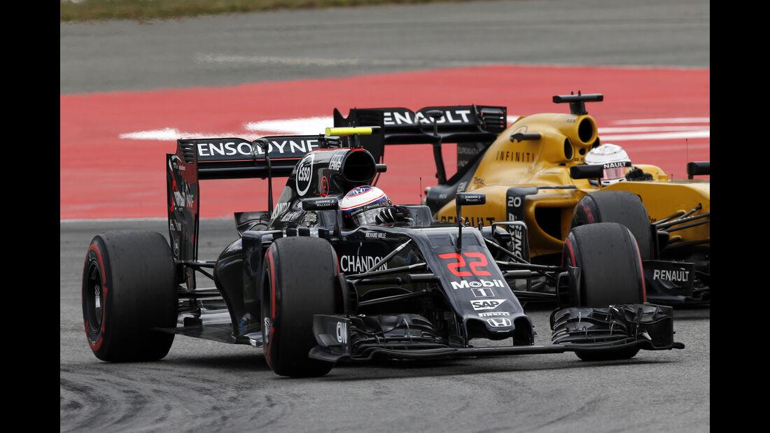 Jenson Button - Formel 1 - GP Deutschland 2016