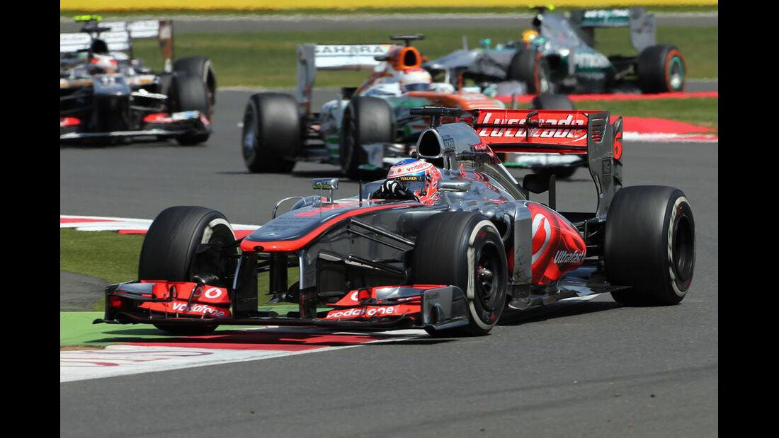 Jenson Button  - Formel 1 - GP England - 30. Juni 2013