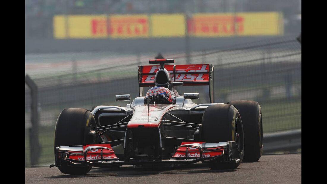 Jenson Button - Formel 1 - GP Indien - 27. Oktober 2012