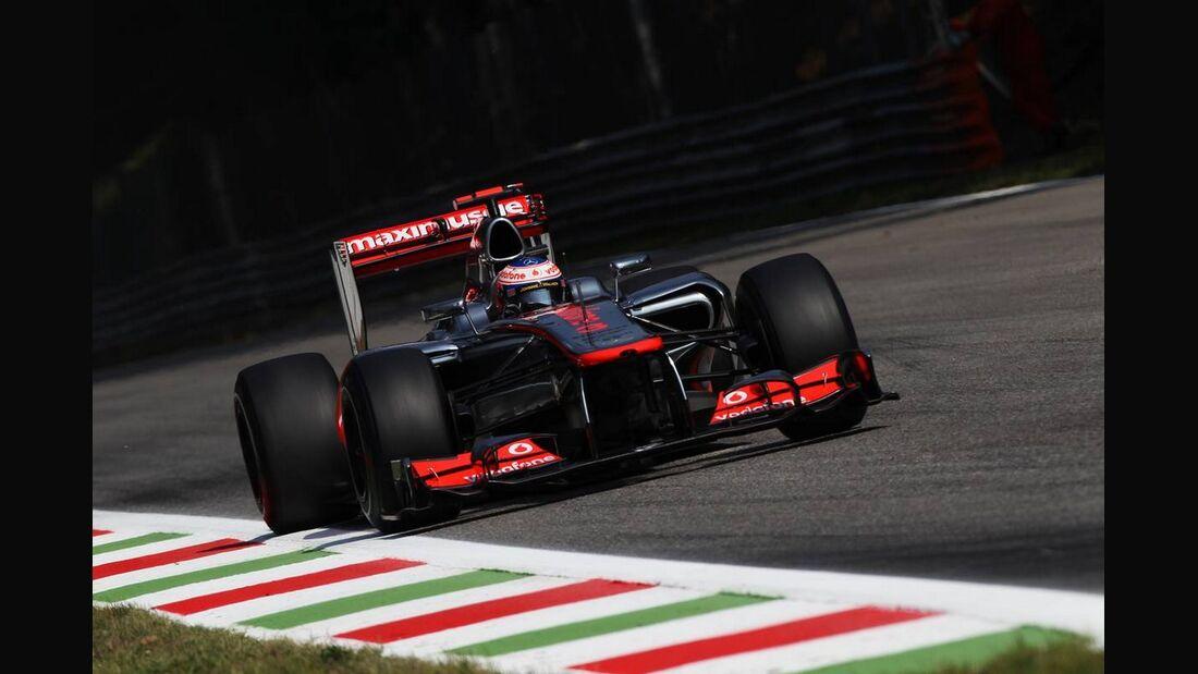 Jenson Button - Formel 1 - GP Italien - 07. September 2012