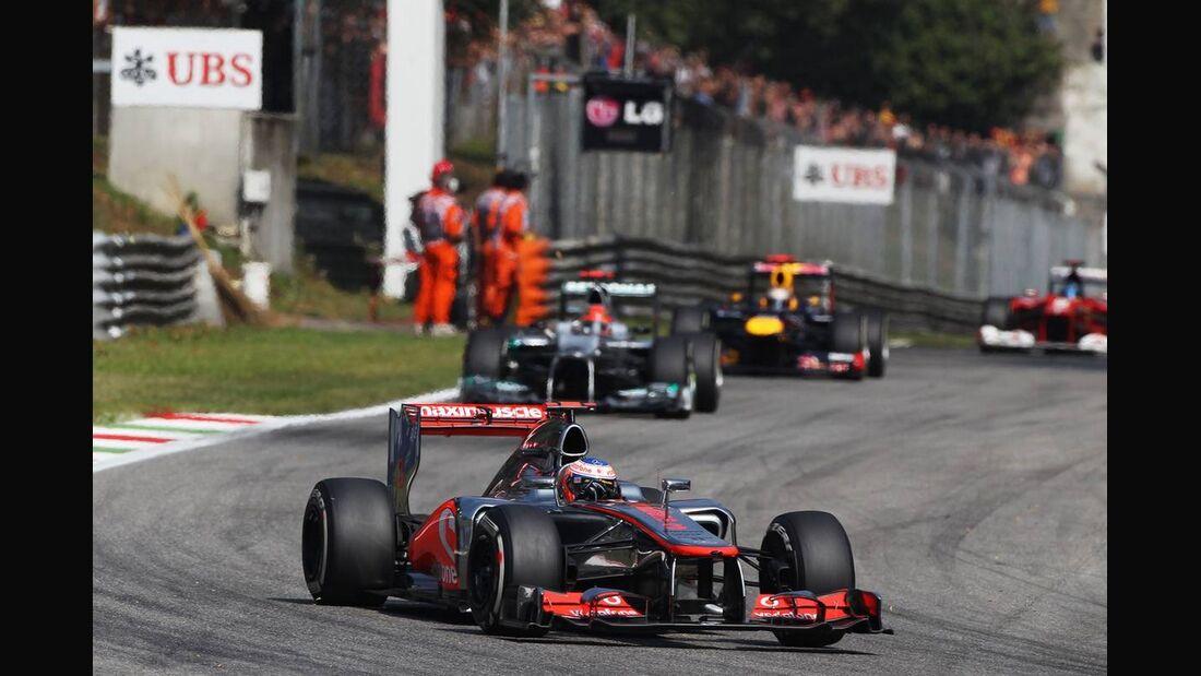 Jenson Button - Formel 1 - GP Italien - 09. September 2012