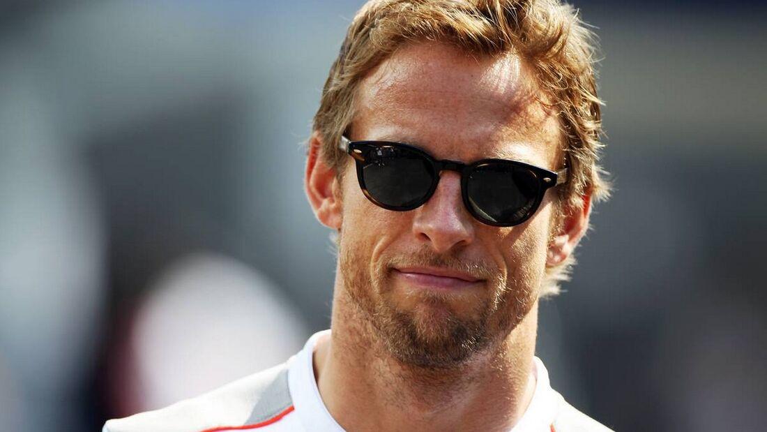 Jenson Button - Formel 1 - GP Italien - 6. September 2012