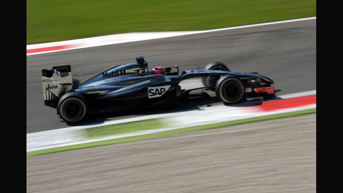 Jenson Button - Formel 1 - GP Italien - 6. September 2014
