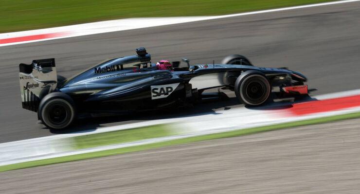 Jenson Button - Formel 1 - GP Italien - 6. September 2014