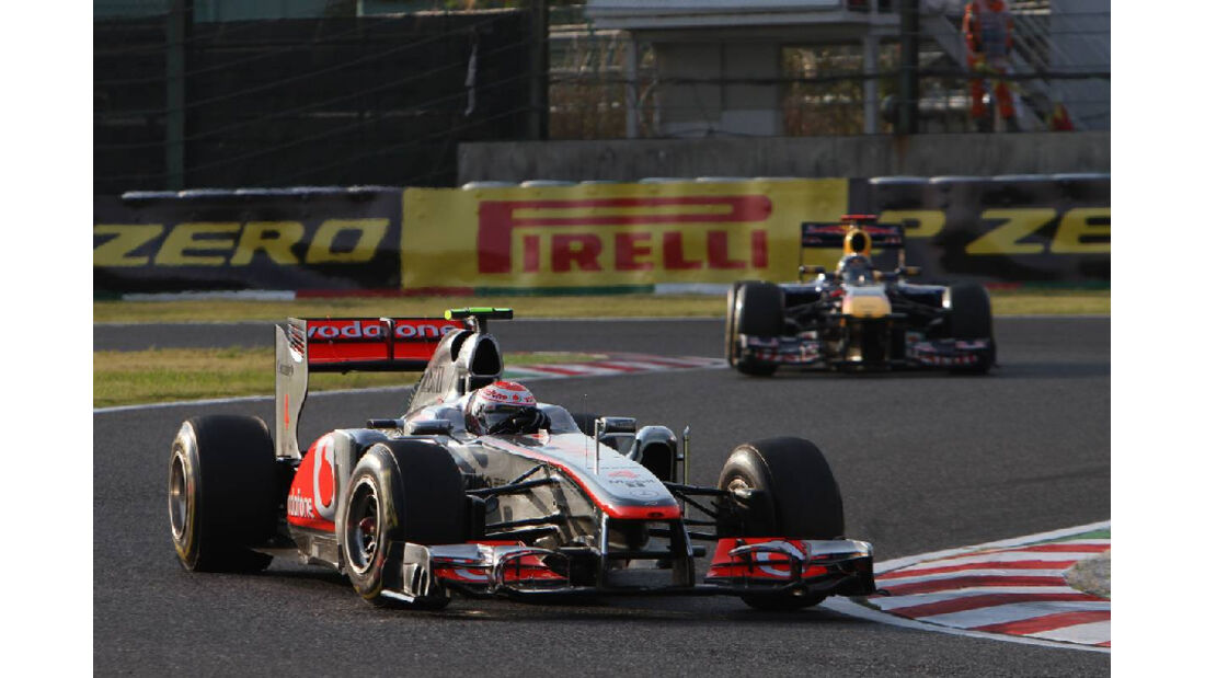 Jenson Button -  - Formel 1 - GP Japan - 9. Oktober 2011