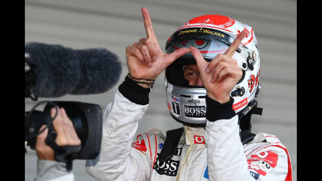 Jenson Button  - Formel 1 - GP Japan - 9. Oktober 2011