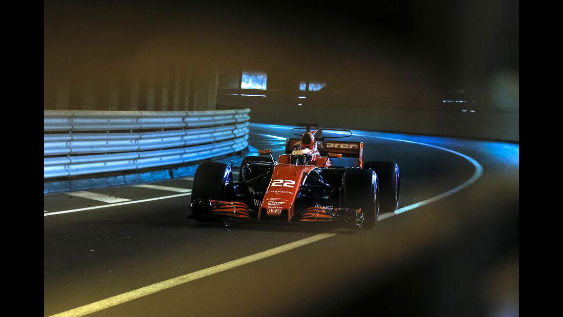 Jenson Button - Formel 1 - GP Monaco 2017