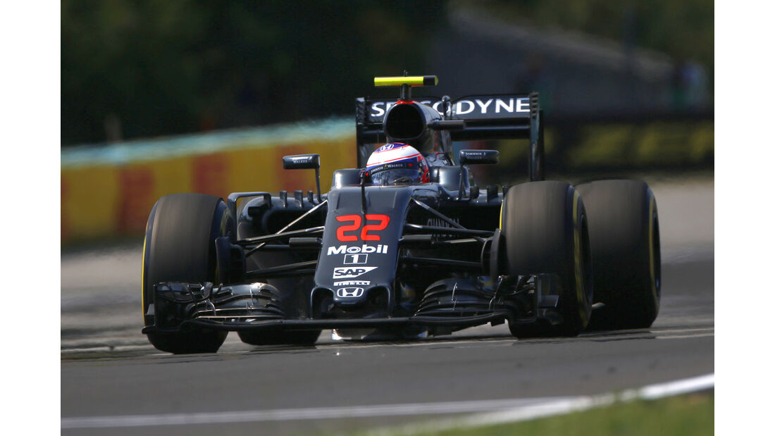 Jenson Button - Formel 1 - GP Ungarn 2016