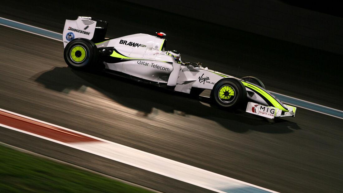 Jenson Button - GP Abu Dhabi 2009