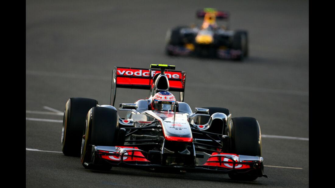 Jenson Button GP Abu Dhabi 2011
