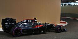 Jenson Button - GP Abu Dhabi 2016