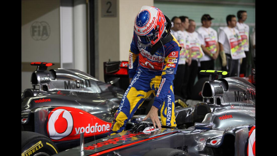 Jenson Button - GP Abu Dhabi - Qualifying - 12.11.2011