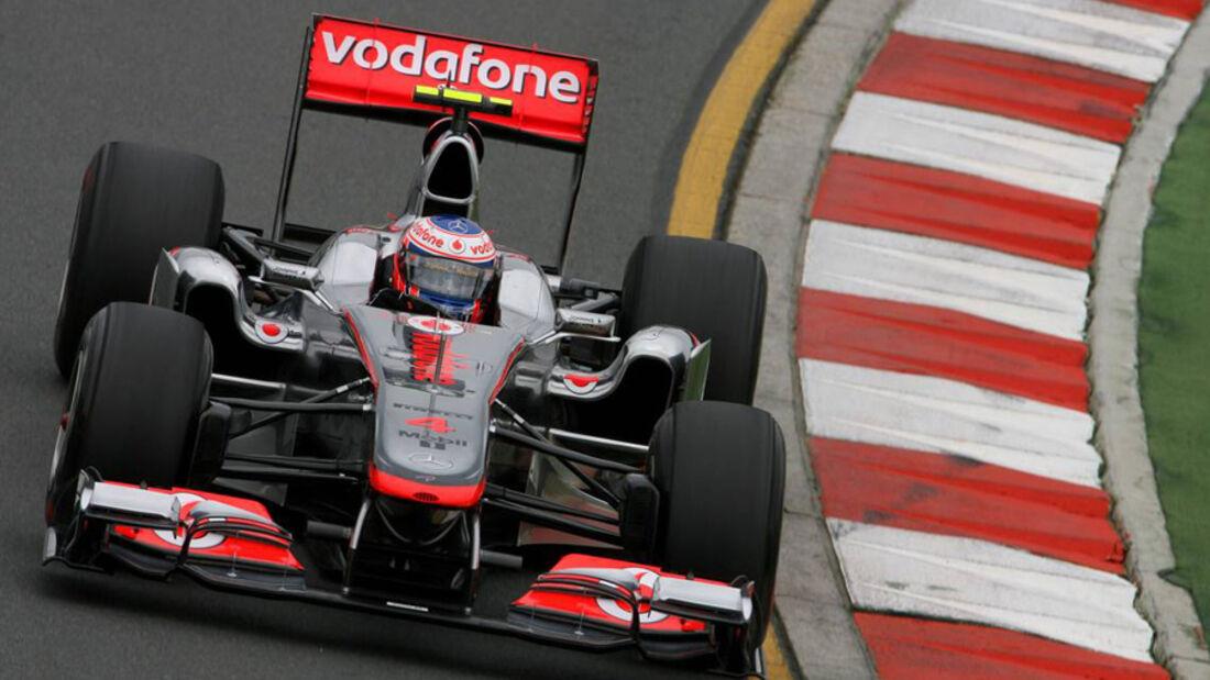 Jenson Button - GP Australien 2011