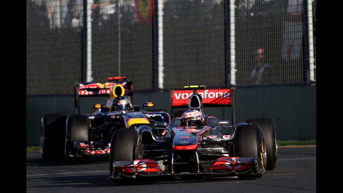Jenson Button GP Australien 2011