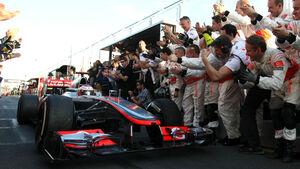 Jenson Button GP Australien 2012
