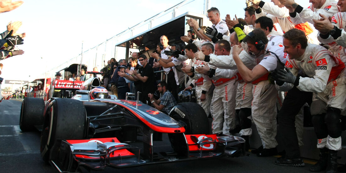 Jenson Button GP Australien 2012