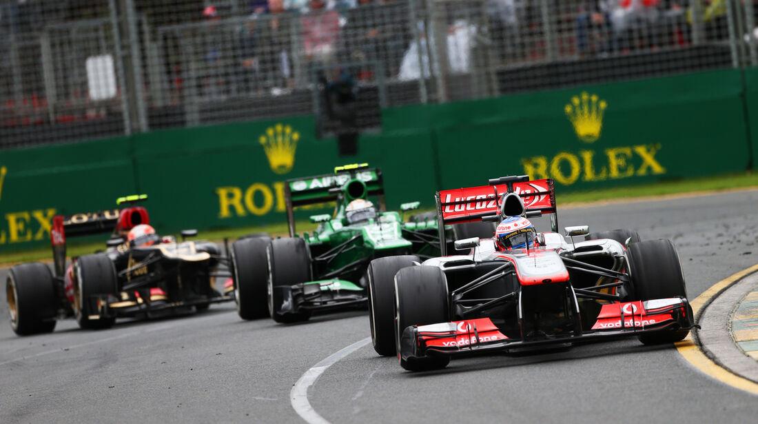 Jenson Button - GP Australien 2013