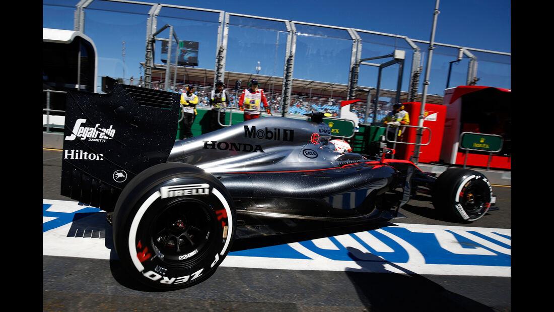 Jenson Button - GP Australien 2015