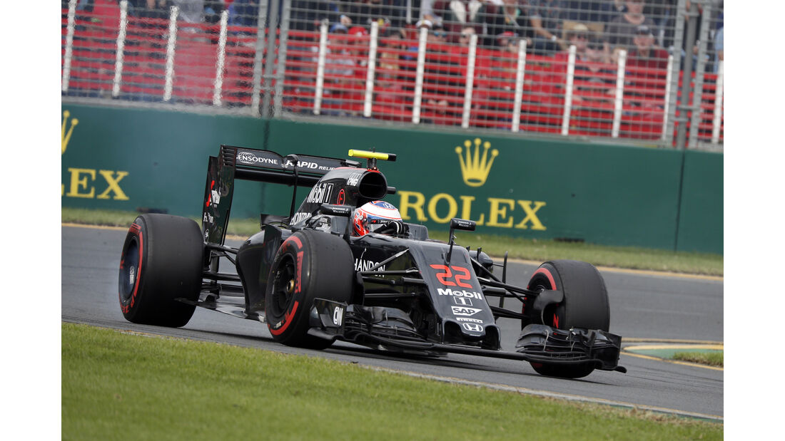 Jenson Button - GP Australien 2016