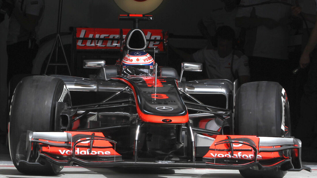 Jenson Button GP Bahrain 2012