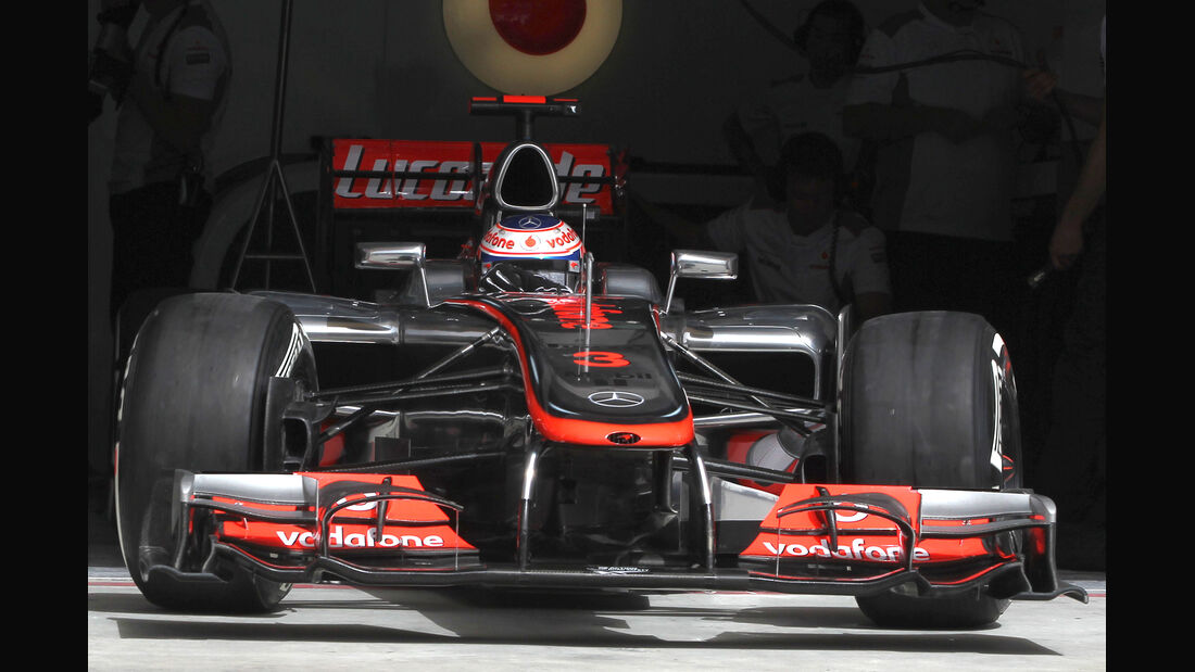 Jenson Button GP Bahrain 2012