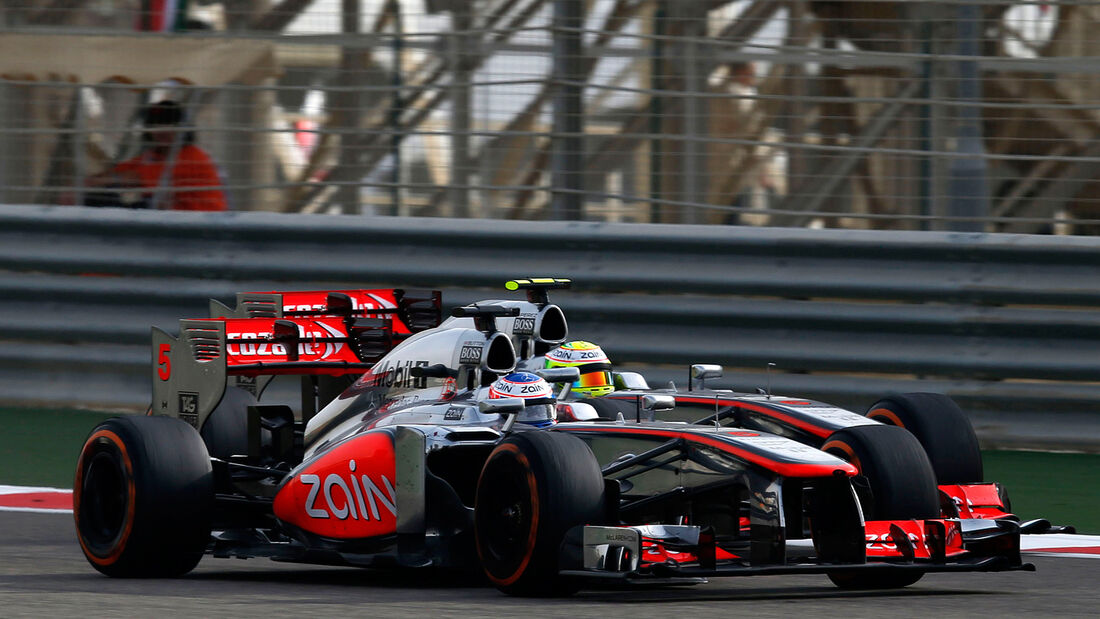 Jenson Button - GP Bahrain 2013