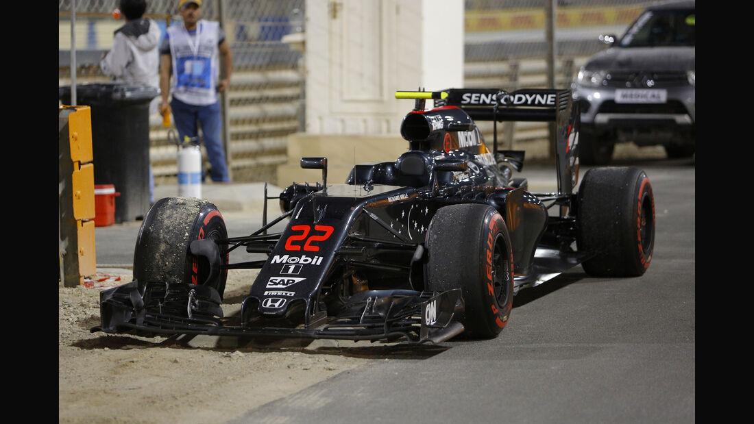 Jenson Button - GP Bahrain 2016
