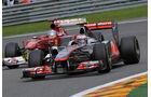 Jenson Button GP Belgien 2011